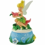 Disney Tinker Bell Flower Bouquet Musical Figurine