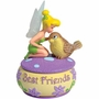 Disney Tinker Bell Kissing Bird Trinket Box