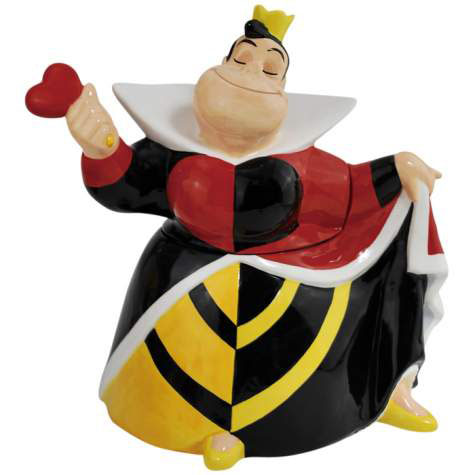 Disney Villains Queen Of Hearts Cookie Jar