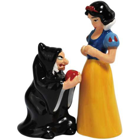 Disney Villains Snow White & Evil Queen Salt and Pepper Shakers