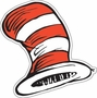 Dr. Seuss Cat In The Hat Cat's Hat Paper Cut Outs 36 Pack