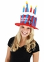 Dr. Seuss Cat in the Hat Deluxe Birthday Hat