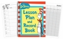Dr. Seuss Cat In The Hat Lesson Plan And Record Book