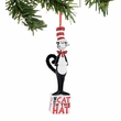 Dr. Seuss Cat in the Hat on Block Ornament