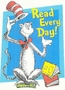 Dr. Seuss Cat In The Hat Read Every Day Window Clings