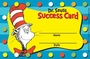 Dr. Seuss Cat in the Hat Reward Punch Cards 36 Pack