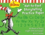 Dr. Seuss Cat in the Hat Storytelling Practice Paper