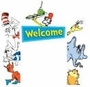 Dr. Seuss Characters Go Around Decoration Kit