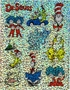 Dr. Seuss Characters Sparkle Stickers 20 Pack