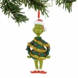 Dr. Seuss Grinch Tinsel Sweater Ornament