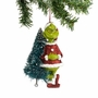Dr. Seuss Grinch With Sisal Tree Ornament