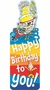 Dr. Seuss Happy Birthday Bookmarks 36 Pack