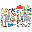 Dr. Seuss If I Ran the Circus 2 Sided Decoration Kit