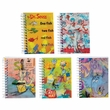 Dr. Seuss Mini Hologram Spiral Notebooks 25 Pack