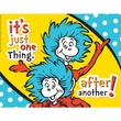 Dr. Seuss One Thing After Another Poster