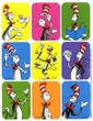 Dr. Seuss The Cat In The Hat Giant Stickers 36 Pack