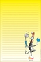Dr. Seuss The Cat In The Hat Note Pad