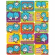 Dr. Seuss Thing 1 and 2 Success Stickers 120 Pack