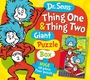 Dr. Seuss Thing 1 and Thing 2 Giant Puzzle Box