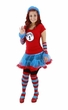 Dr. Seuss Thing 1 or Thing 2 Adult Tutu Costume