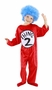 Dr. Seuss Thing 1 or Thing 2 Toddler/Kids Costume