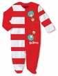 Dr. Seuss Thing 1 and Thing 2 Red and White Infant Sleeper