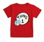 Dr. Seuss Thing One Red Infant/Toddler T-Shirt