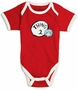 Dr. Seuss Thing Two Red Bodysuit