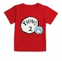 Dr. Seuss Thing Two Red Infant/Toddler T-Shirt