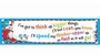 Dr. Seuss Think Up Bigger Things Classroom Banner