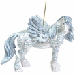 Horse of a Different Color Angel Ornament