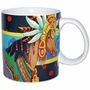 Horse Of A Different Color Aztec Queen Mustang Mug