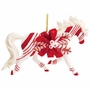 Horse of a Different Color Candy Cane Lane Arabian Horse Ornament