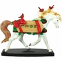 Horse Of A Different Color Christmas Noel Arabian Horse