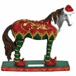 Horse of a Different Color Elf Figurine