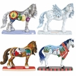 Horse of a Different Color Holiday 2013 Set of 4