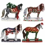 Horse of a Different Color Holiday 2014 Set of 4 - Save 10%