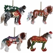 Horse of a Different Color Holiday Ornaments 2014 Save 10%
