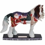 Horse of a Different Color Santa Cardinals Figurine