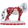 Horse of a Different Color Santa Claus Clydesdale Horse