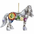Horse of a Different Color Silverfrost Ornament