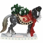 Horse of a Different Color Snowy Figurine