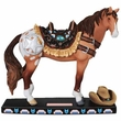 Horse of a Different Color Western Figurine