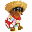 Hot Diggity Dog Beach Bum Doxie Figurine