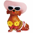 Hot Diggity Dog Bikini Girl Doxie Figurine