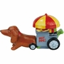 Hot Diggity Dog Doxie's Hot Dog Cart Salt and Pepper Shakers