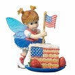 Kitchen Fairies Little Patriotic Cake Fairie