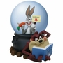 Looney Tunes Bugs Bunny and Taz Waterglobe