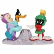 Looney Tunes Duck Dodgers & Marvin The Martian Salt and Pepper Shakers Toothpick Holder