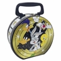Looney Tunes Gang Round Tin Tote